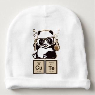 Mignon découvert par panda de chimie bonnet de bébé