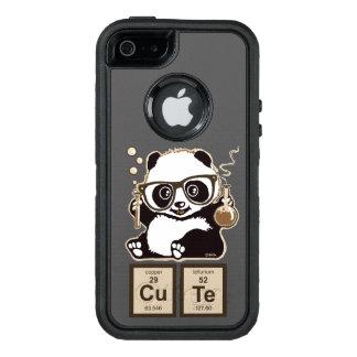 Mignon découvert par panda de chimie coque OtterBox iPhone 5, 5s et SE