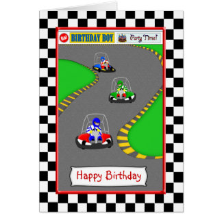 Carte D Anniversaire Karting Coleteremelly Official