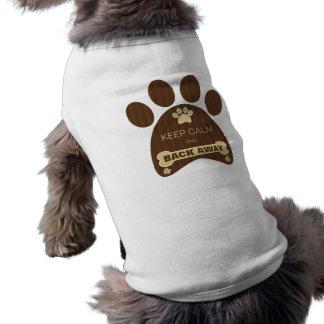 Mignon gardez le T-shirt drôle parti de chien de T-shirt Pour Chien