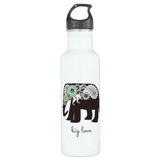 Mignon Girly d'amour d'éléphant de Paisley Bouteille D'eau