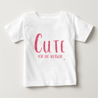 """""""Mignon T-shirt de style de scintillement de rose"""