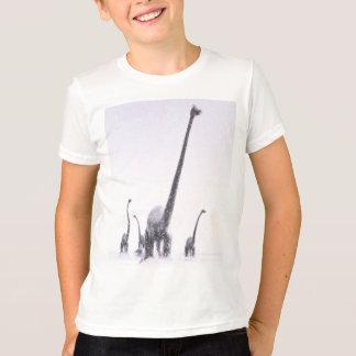 Migration de brontosaure t-shirt