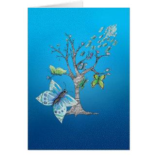 Migration de papillon cartes