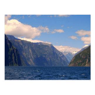 Milford Sound, carte postale de la Nouvelle