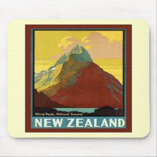 ~ Milford Sound de crête de mitre de ~ de la Nouve Tapis De Souris