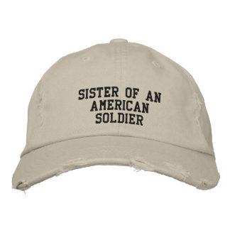 militaire casquette brodée