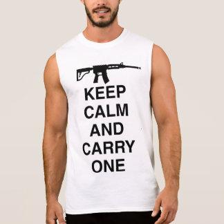 Militaires/armée drôle t-shirt sans manches