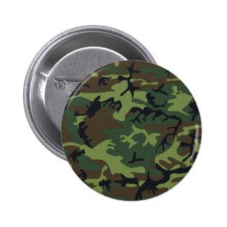 Militaires bruns noirs verts de camouflage de camo badge rond 5 cm