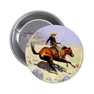 Militaires vintages de cavalerie, le cowboy par badge
