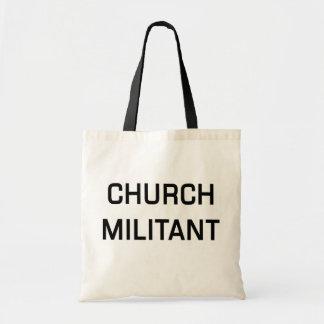Militant Fourre-tout d'église Sac Fourre-tout