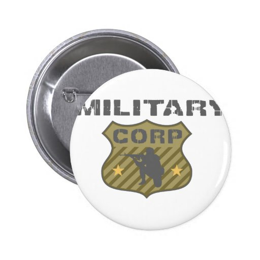 Military Corp Badge