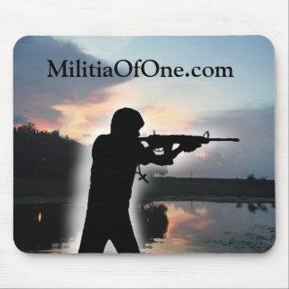MilitiaOfOne.com Mousepad Tapis De Souris