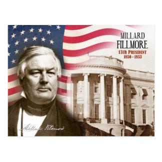 Millard Fillmore - 13ème président des États-Unis Cartes Postales