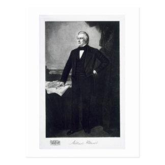 Millard Fillmore, 13ème président du Sta uni Carte Postale