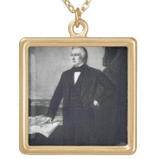 Millard Fillmore, 13ème président du Sta uni Pendentif Carré