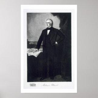 Millard Fillmore, 13ème président du Sta uni Posters
