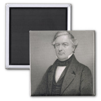 Millard Fillmore, gravé par Thomas B. Welch (181 Magnet Carré