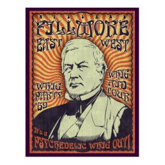 Millard Fillmore - libéral ! Cartes Postales