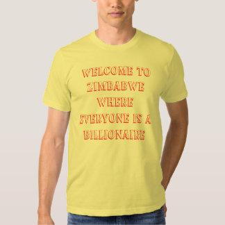 Milliardaire du Zimbabwe T-shirts