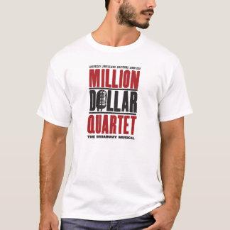 Million de logo de quartet du dollar t-shirt