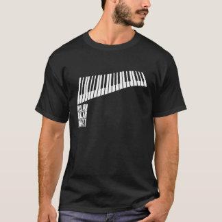 Million de piano de quartet du dollar - blanc t-shirt