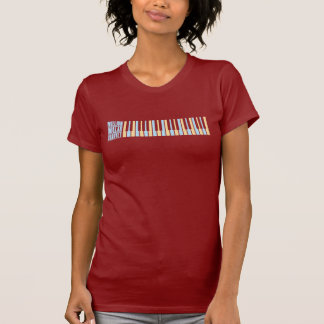 Million de piano de quartet du dollar t-shirt