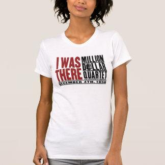 """Million de quartet du dollar """"j'étais là """" t-shirts"""