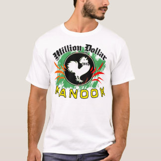 MILLION de T-shirt de COMBAT de POULET du DOLLAR