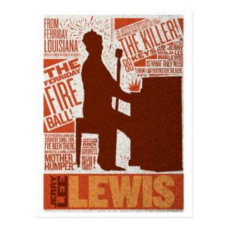 Million de type de Lewis de quartet du dollar Cartes Postales