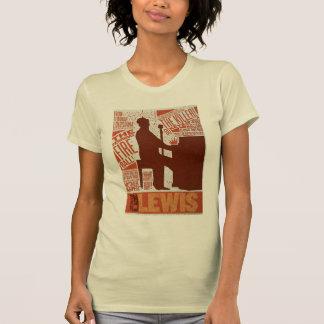 Million de type de Lewis de quartet du dollar T-shirt