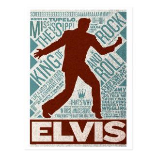 Million de type d'Elvis de quartet du dollar Cartes Postales