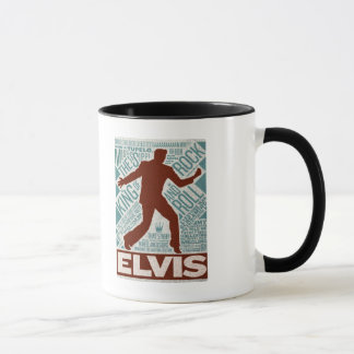 Million de type d'Elvis de quartet du dollar Mug