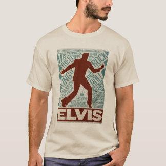Million de type d'Elvis de quartet du dollar T-shirt