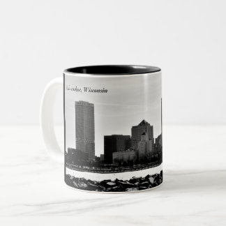 Milwaukee, le Wisconsin Tasse 2 Couleurs