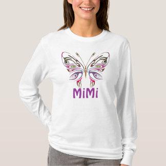 MiMi papillon personnalisé T-shirt