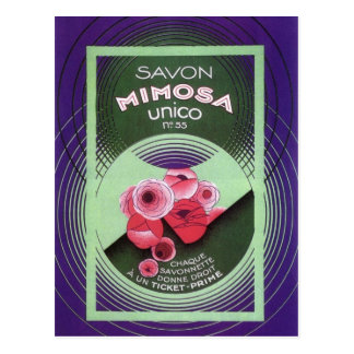 Mimosa Unico 55 de Savon Carte Postale