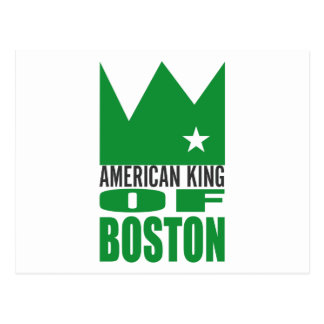 MIMS Postcard -  American King of Boston