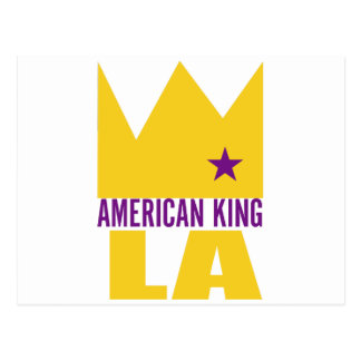 MIMS Postcard -  American King of L.A.