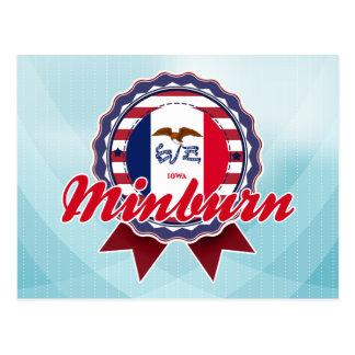Minburn, IA Carte Postale