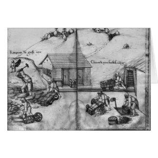 Mine argentée des Croix-aux.-Mines de La Carte De Vœux