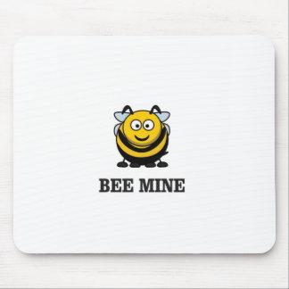 mine d'abeille d'amour tapis de souris