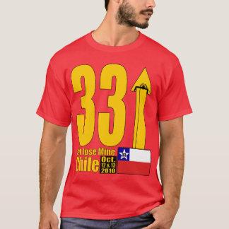Mine de San Jose, délivrance de mineur du Chili - T-shirt