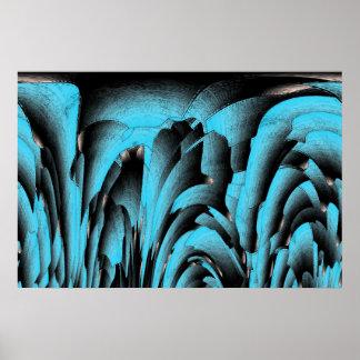 Minerai de turquoise posters