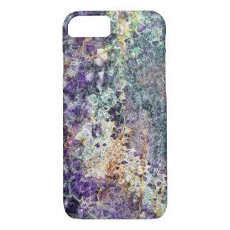 minerai en pierre AM de gemme de roche de motif de Coque iPhone 7