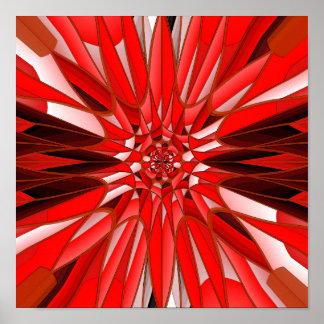 Minerai rouge affiches