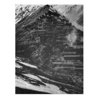 Mines de cuivre de Braden en piment Carte Postale