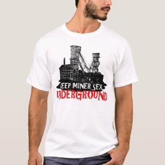 Mineur drôle t-shirt
