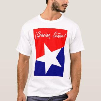 Mineurs chiliens Gracias, Señor ! ESPAGNOL de 95:4 T-shirt