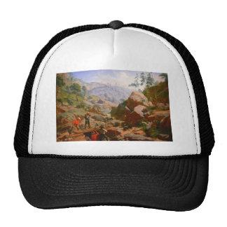 Mineurs dans les sierras - 1851/1852 casquettes